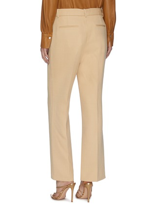 Back View - Click To Enlarge - VICTORIA BECKHAM - Crop Suiting Pants