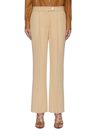 Main View - Click To Enlarge - VICTORIA BECKHAM - Crop Suiting Pants