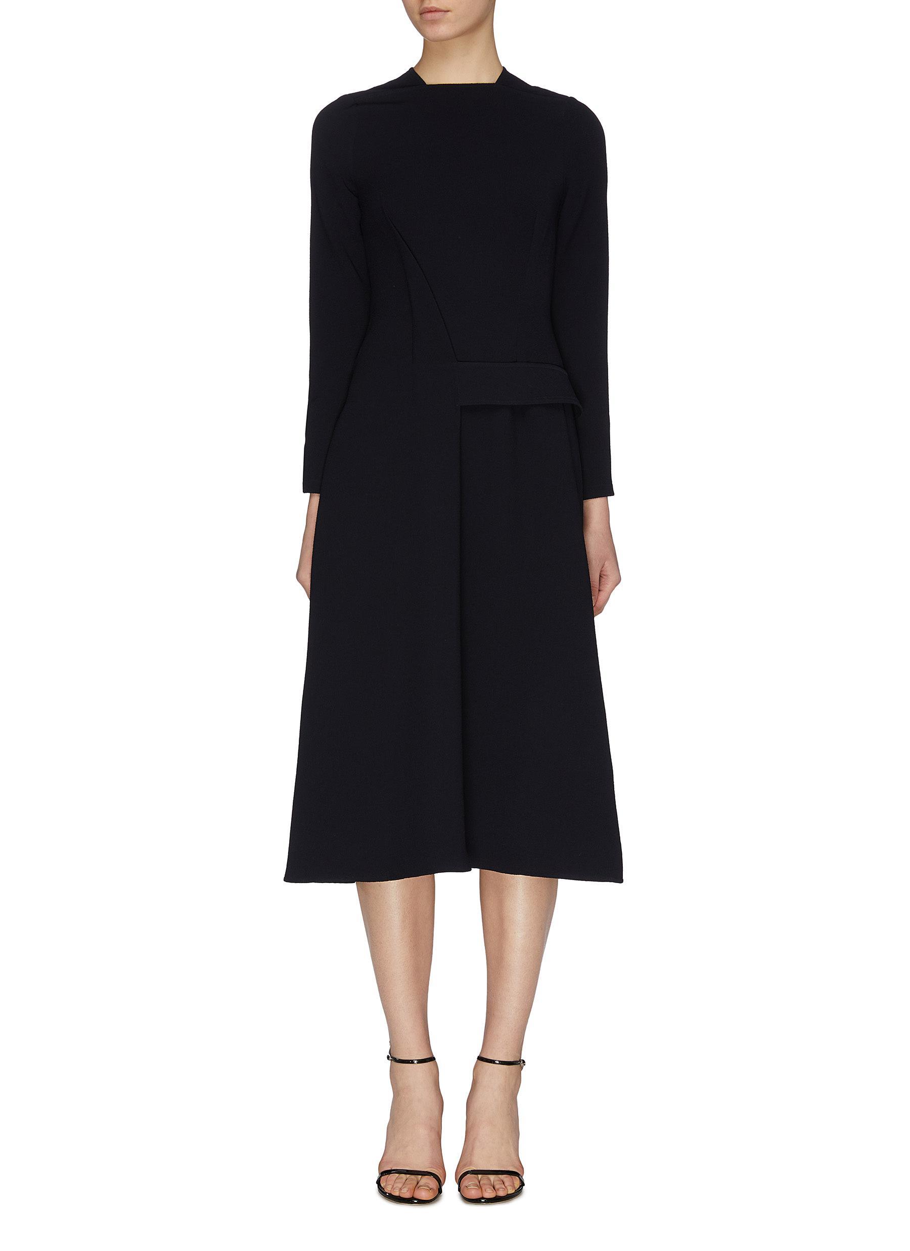 Buy Victoria Beckham Dresses Belted wrap around dress