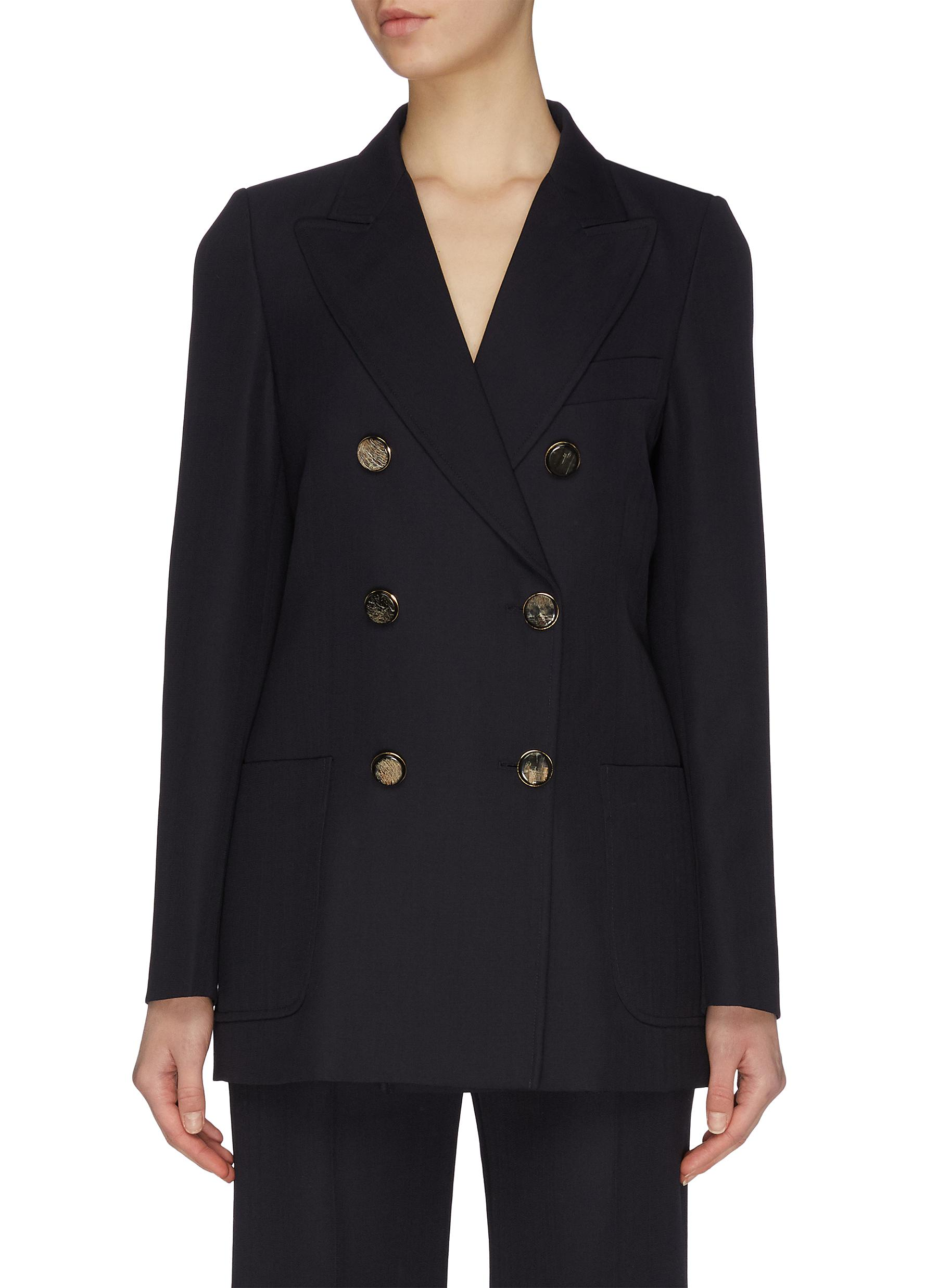 Buy Victoria Beckham Blazers Double breasted blazer