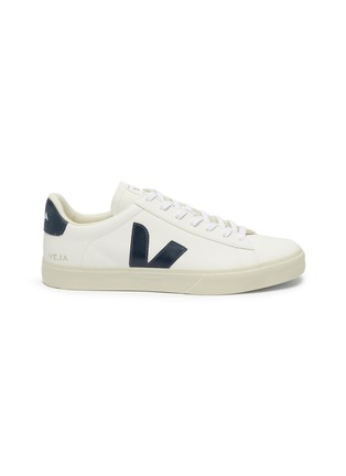 Main View - Click To Enlarge - VEJA - 'Campo' lace up chromefree leather sneakers