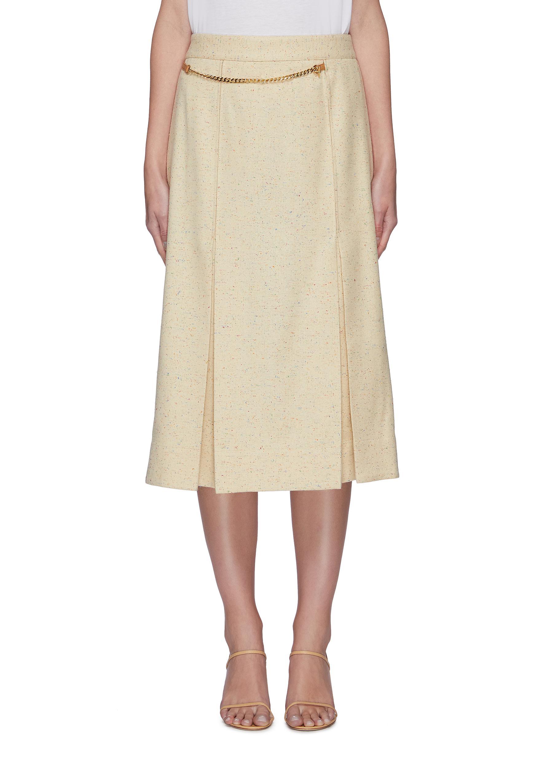 Buy Victoria Beckham Skirts Chain belt 70's skirt