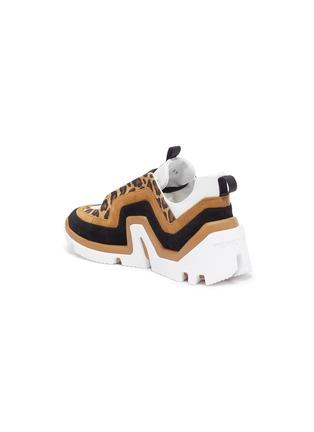 - PIERRE HARDY - 'Vibe' leopard trim sneakers