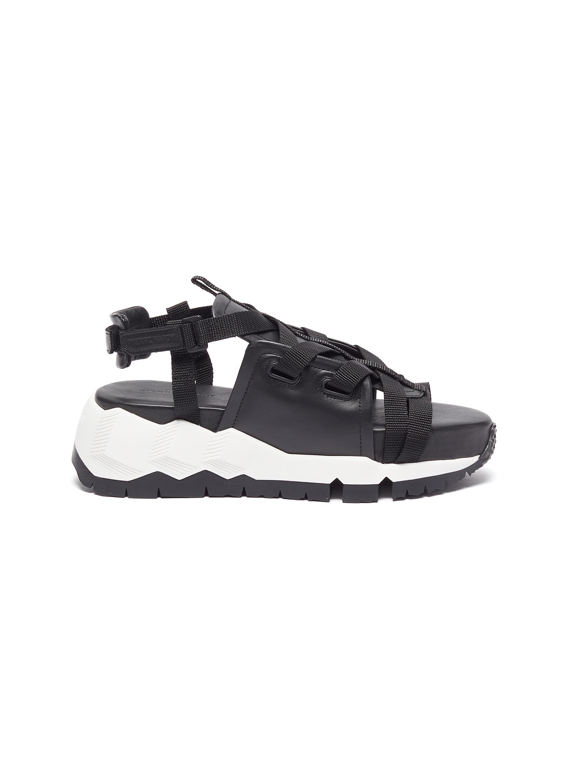 Pierre Hardy Sneakers TC Bivouac openwork sneakers