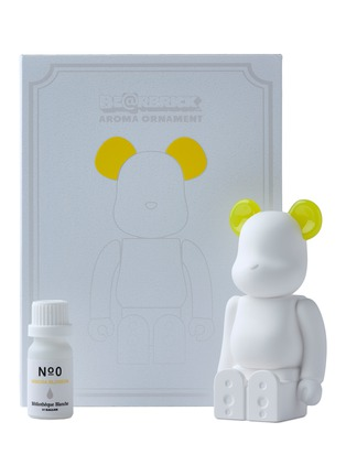 Detail View - Click To Enlarge - BALLON - x Bibliothèque Blanche BE@RBRICK Aroma Ornament – Yellow