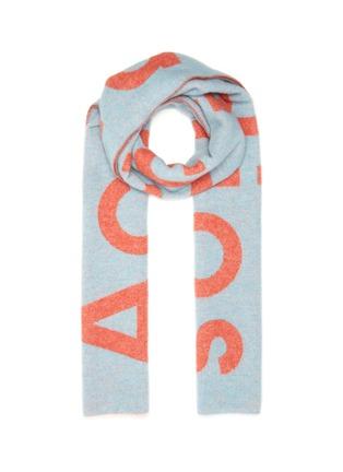 Main View - Click To Enlarge - ACNE STUDIOS - Colourblock scarf