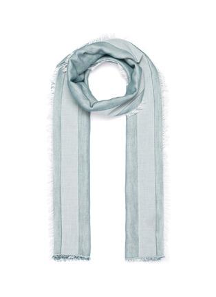 Main View - Click To Enlarge - FRANCO FERRARI - Americano' stripe scarf