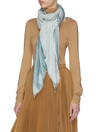 Figure View - Click To Enlarge - FRANCO FERRARI - Americano' stripe scarf