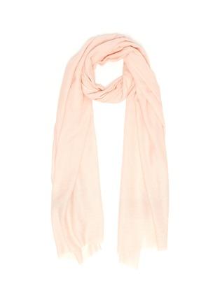 Main View - Click To Enlarge - JANAVI - Shimmer stripe merino wool scarf