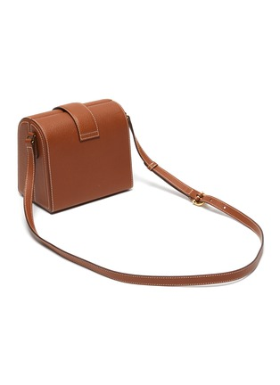 Detail View - Click To Enlarge - MARK CROSS - 'Cupola' leather box shoulder bag