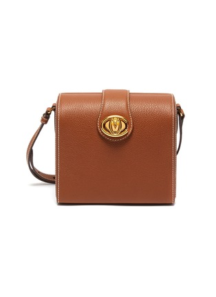 Main View - Click To Enlarge - MARK CROSS - 'Cupola' leather box shoulder bag