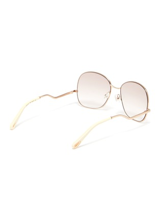 Figure View - Click To Enlarge - CHLOÉ - D frame curled temple sunglasses
