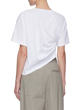 Back View - Click To Enlarge - SHORT SENTENCE - Side ruched T-shirt