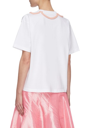 Back View - Click To Enlarge - SHUSHU/TONG - Braid Bow T-shirt