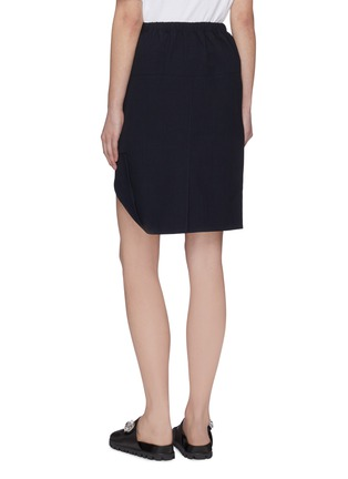 Back View - Click To Enlarge - SHUSHU/TONG - Folded Hem Skirt