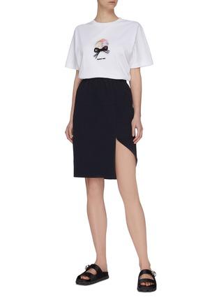 Figure View - Click To Enlarge - SHUSHU/TONG - Folded Hem Skirt