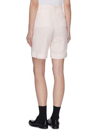 Back View - Click To Enlarge - SHUSHU/TONG - Raw Edge Hammered Shorts