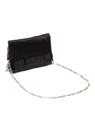 Detail View - Click To Enlarge - JIMMY CHOO - 'Titania' embellished beaded fringe clutch
