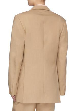 Back View - Click To Enlarge - SAMUEL GUÌ YANG - Buro Wool Jacket