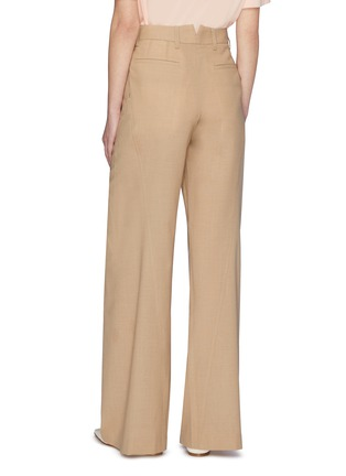 Back View - Click To Enlarge - SAMUEL GUÌ YANG - Wide Suiting Pants