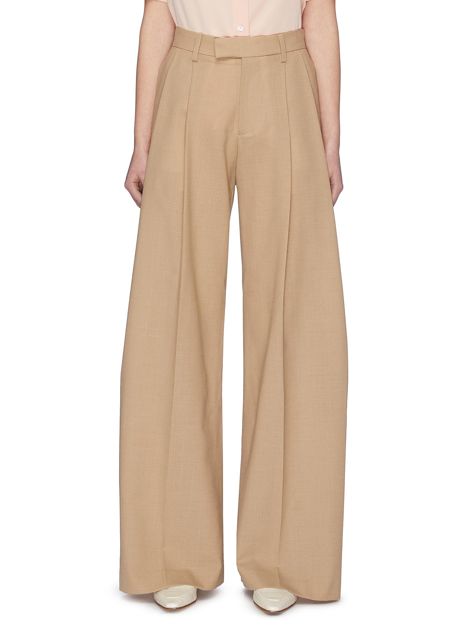 shop Samuel Guì Yang Wide Suiting Pants online