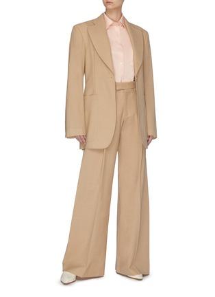 Figure View - Click To Enlarge - SAMUEL GUÌ YANG - Wide Suiting Pants