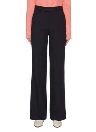 Main View - Click To Enlarge - SAMUEL GUÌ YANG - Straight Suiting Pants