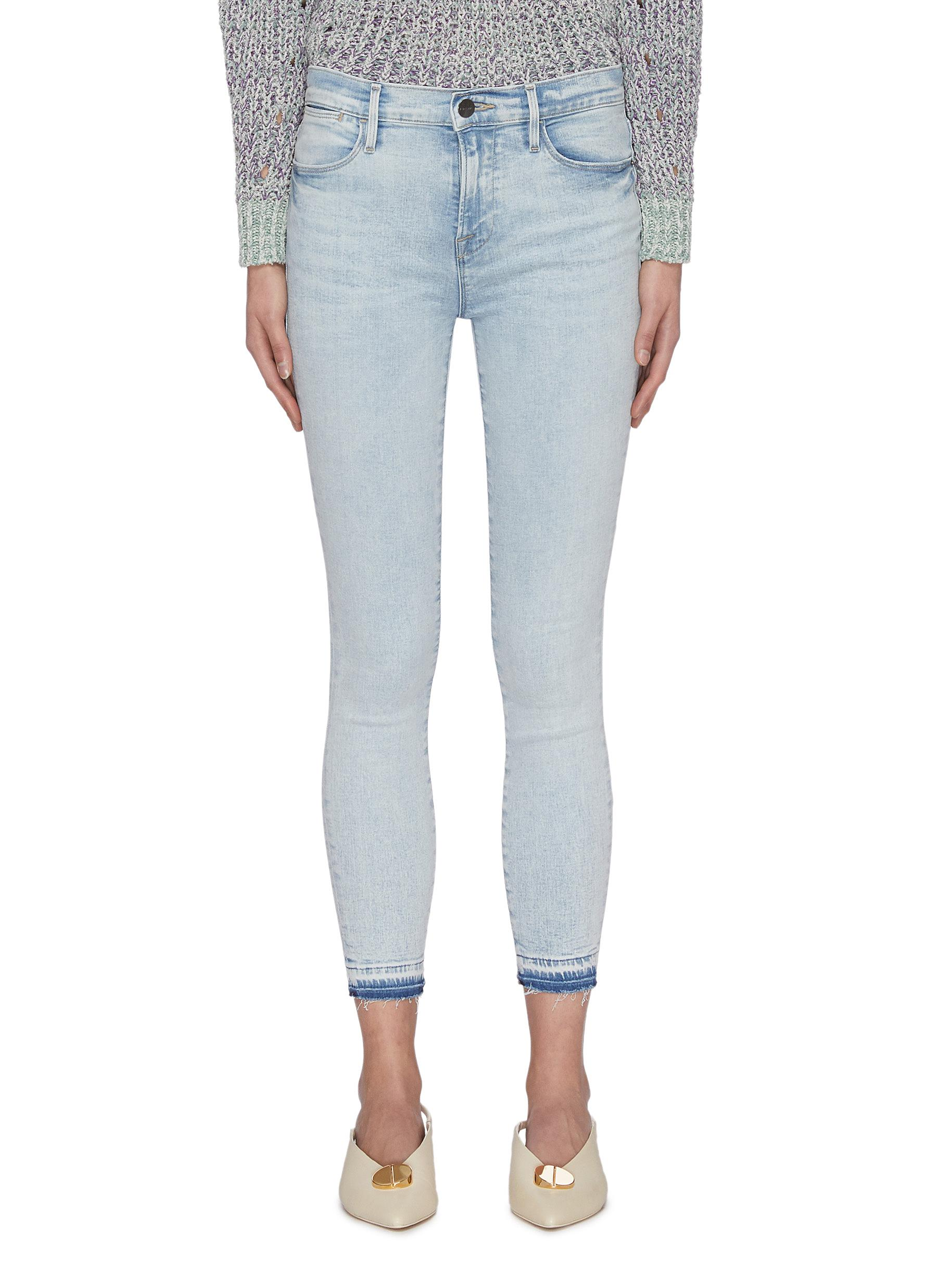 Buy Frame Denim Jeans 'Le High Skinny' released hem crop skinny jeans