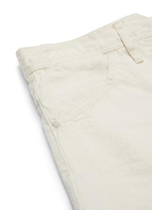 - JIL SANDER - Belted Denim Shorts