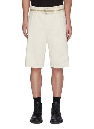 Main View - Click To Enlarge - JIL SANDER - Belted Denim Shorts