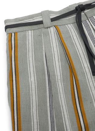 - JIL SANDER - Belted stripe shorts