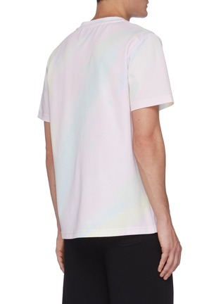 Back View - Click To Enlarge - ANGEL CHEN - Holographic Print T-shirt