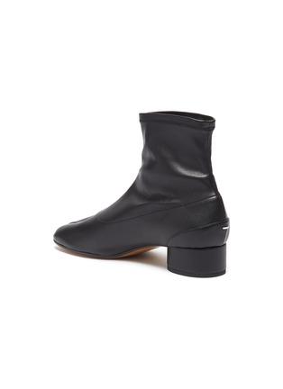 - MAISON MARGIELA - 'Tabi' leather ankle boot