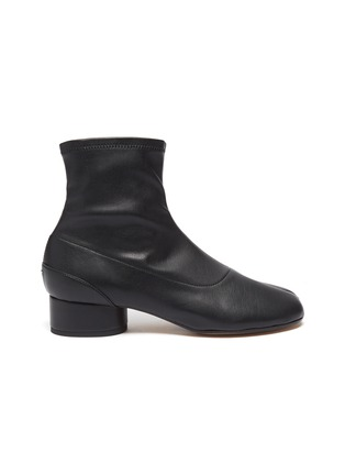 Main View - Click To Enlarge - MAISON MARGIELA - 'Tabi' leather ankle boot