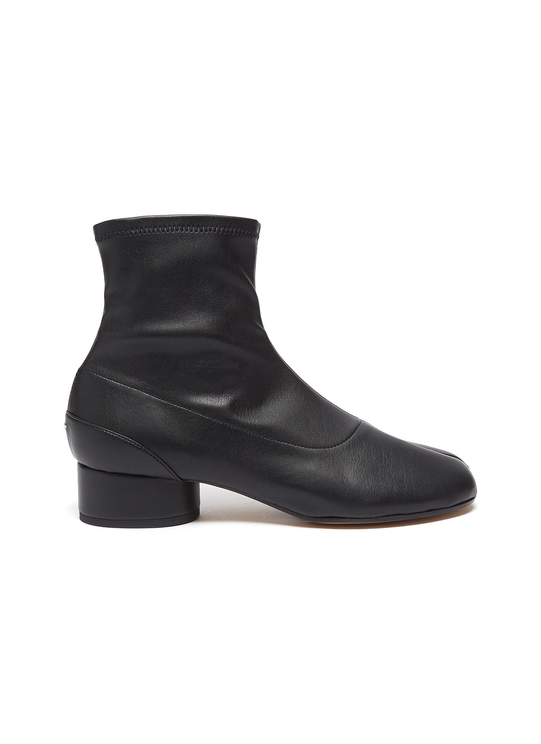 Maison Margiela Boots Tabi leather ankle boot
