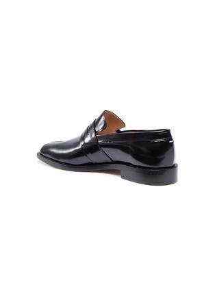 - MAISON MARGIELA - Tabi' flat leather loafers