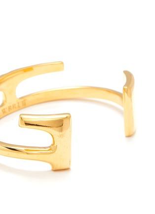 Detail View - Click To Enlarge - W. BRITT - 'E' 18k gold bracelet