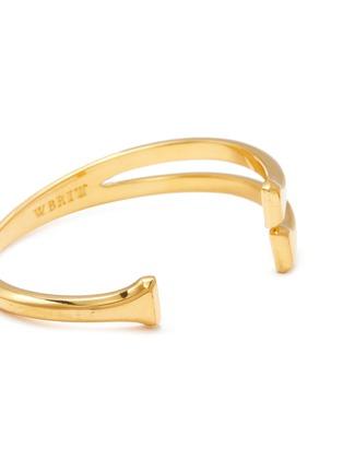 Detail View - Click To Enlarge - W. BRITT - 'H' 18k gold bracelet