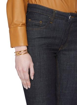 Figure View - Click To Enlarge - W. BRITT - 'H' 18k gold bracelet