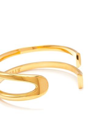 Detail View - Click To Enlarge - W. BRITT - 'U' 18k gold bracelet