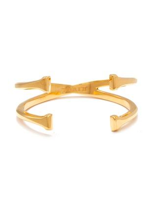 Main View - Click To Enlarge - W. BRITT - 'X' 18k gold bracelet