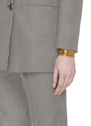 Figure View - Click To Enlarge - W. BRITT - 'B' 18k gold bracelet
