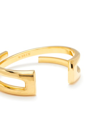 Detail View - Click To Enlarge - W. BRITT - 'Z' 18k gold bracelet