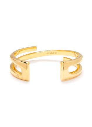 Main View - Click To Enlarge - W. BRITT - 'Z' 18k gold bracelet