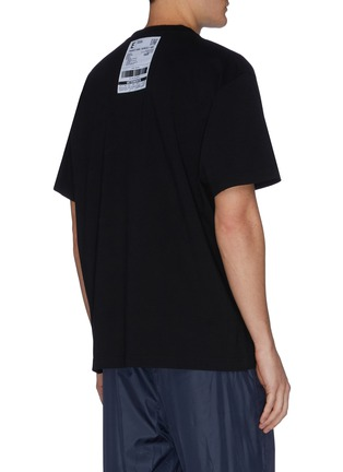 Back View - Click To Enlarge - VETEMENTS - Postage patch detail logo print T-shirt