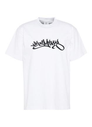 Main View - Click To Enlarge - VETEMENTS - Graffiti logo print T-shirt