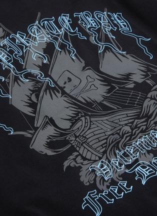 - VETEMENTS - 'Pirate Bay' logo print T-shirt