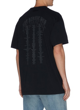 Back View - Click To Enlarge - VETEMENTS - 'Pirate Bay' logo print T-shirt
