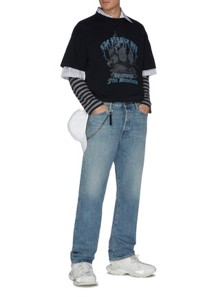 Figure View - Click To Enlarge - VETEMENTS - 'Pirate Bay' logo print T-shirt