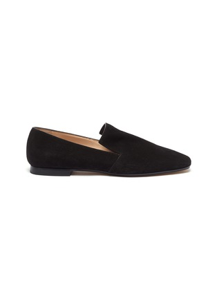 Main View - Click To Enlarge - RODO - Square toe suede loafers
